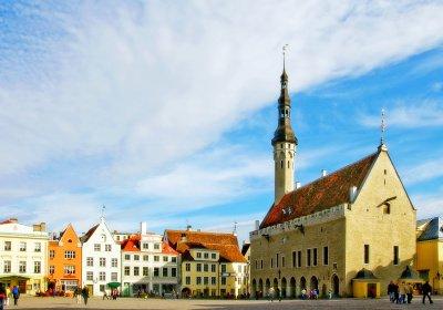 Tallinn medieval Town Hall