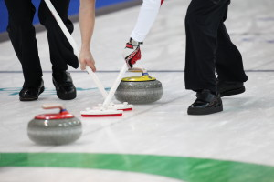 A fun team game to test your balance and skills on ice with family, friends or colleagues.