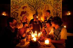 Enjoy a fun walking tour of Tallinn old town with traditional medieval beer tasting.
