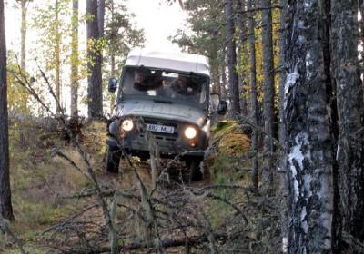 Off-road GPS Safari