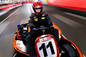 Test your skill on a specially designed fast track. New powerful go-karts allow for impressive acceleration.