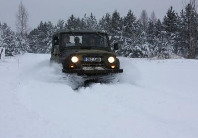 GPS Orienteering in winter