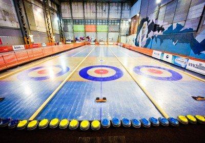 Curling hall