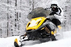 Enjoy the wonderful winter countryside on an adrenaline filled snowmobile safari.
