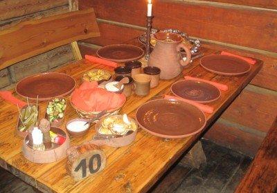 Lunch at Viking Village