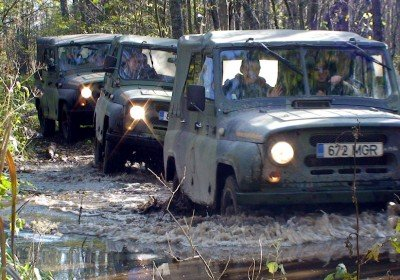 GPS Off-road Orienteering Safari